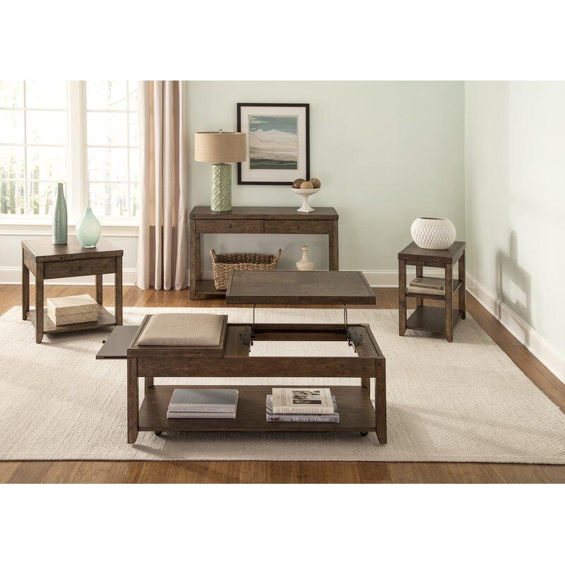 Gracie Oaks Chisholm 4 Piece Coffee Table Set Wayfair