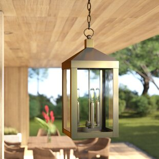 Demery 3-Light Outdoor Hanging Lantern by Mercury Row