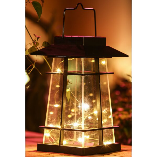 Aqua Green Lumineo Warm White LED Battery Camping Garden Lantern Indoor Outdoor