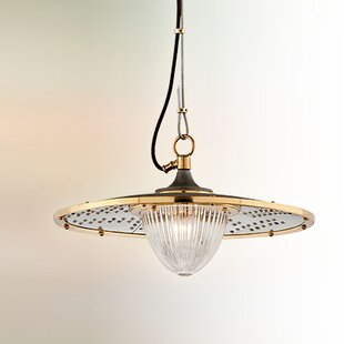 17 Stories Mervela 1-Light Bowl Pendant