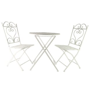 Deason Dining Set With 2 Chairs By Fleur De Lis Living