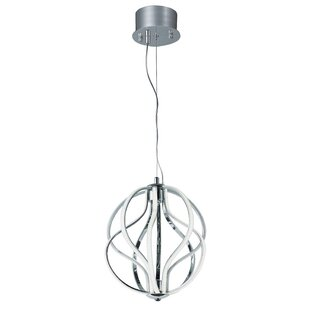 Orren Ellis Fahey 10-Light LED Geometric Chandelier