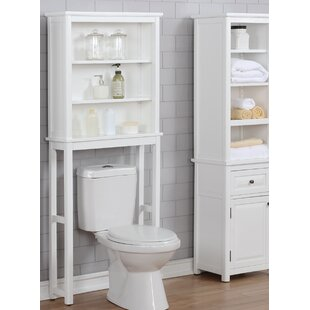 Carruthers 68.58cm X 167.64cm Over The Toilet Shelf By Blue Elephant