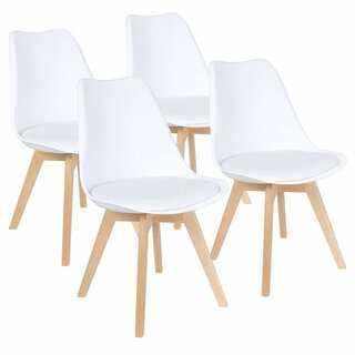 Ameliasburg Upholstered Dining Chair (Set of 4) by Wrought Studio SKU:AE952453 Description