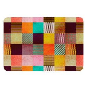 Decorative Pixel by Louise Machado Bath Mat