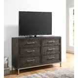 Daniela 6 Drawer Double Dresser by Foundry Select