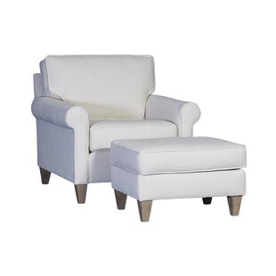 Darby Home Co Dennie Armchair and Ottoman