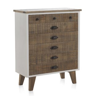 Wooden 8 Drawer Chest Of Drawers By Hazelwood Home