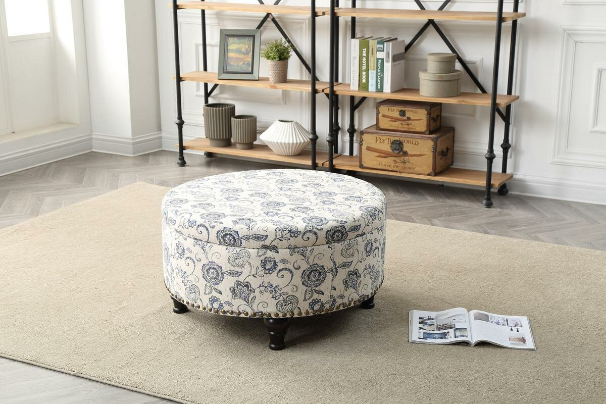 Incredible Maron Storage Ottoman Machost Co Dining Chair Design Ideas Machostcouk