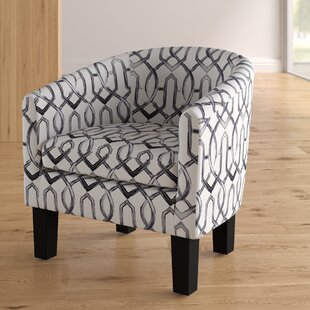 Ebern Designs Ballew Barrel Chair
