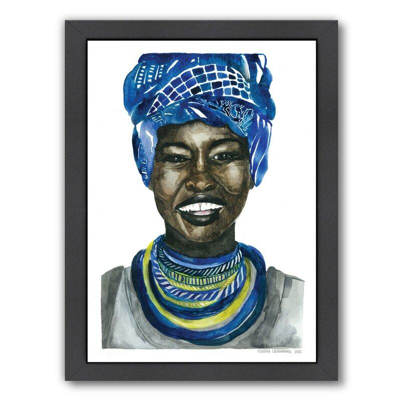 East Urban Home African Pride 3 Framed Painting Print Reviews Wayfair