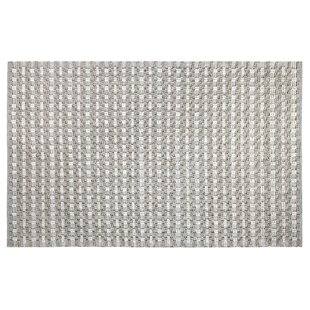 Pebbles Hand-Woven Gray Indoor/Outdoor Area Rug