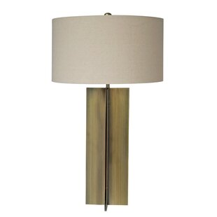 Bland Oatmeal 30 Table Lamp