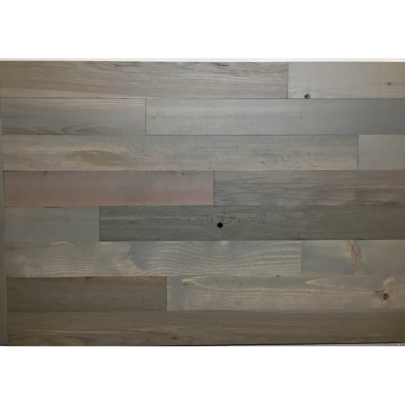 3 Solid Wood Wall Paneling In Grey