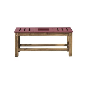 Wiggin Wood Bench