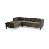 65.5'' Left Hand Facing Sofa & Chaise by Everly Quinn