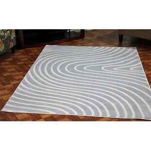Castillo Light Blue Stain Resistant Indoor/Outdoor Area Rug