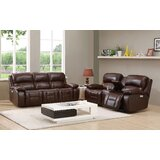Garrano Power 2 Piece Leather Reclining Living Room Set by Ebern Designs