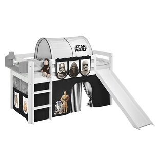 Star Wars European Single Mid Sleeper Bed With Textile Set By Star Wars
