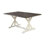 Robinette Solid Oak Dining Table by Longshore Tides