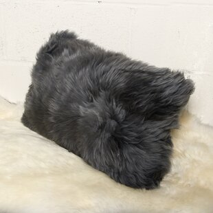Floyd Mongolian Faux Fur Lumbar Pillow