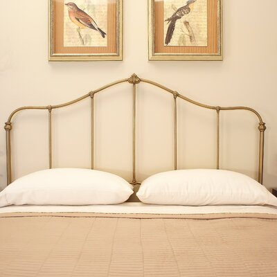 Carson Slat Headboard Benicia Foundry and Iron Works Size: California King