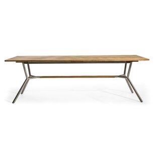 Reef Solid Wood Dining Table by OASIQ