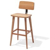 Barclay Solid Wood Bar Stool (Set of 50) by sohoConcept