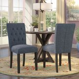 Kimmons Upholstered Dining Chair (Set of 2) by Charlton Home®