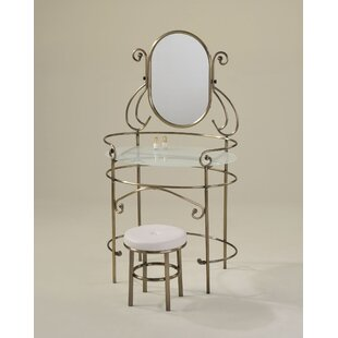 Red Barrel Studio Newland Vanity Set with Mirror