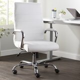 High Back Swivel with Wheels Ergonomic Executive Chair by Wayfair Basics™