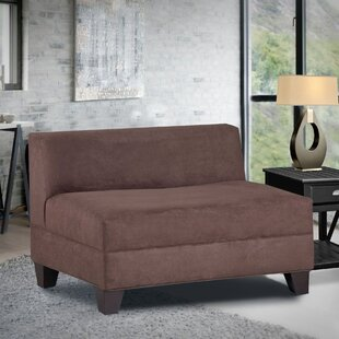 Where buy  Woodhouse Armless Loveseat by Latitude Run Reviews (2019) & Buyer's Guide
