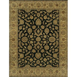 Buying Freeland Hand-Knotted Wool Black Area Rug By Astoria Grand