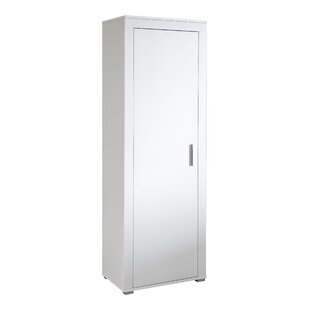 Lanke 1 Door Wardrobe By Mercury Row