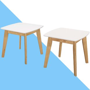 Genie Modern 2 Piece Side Table Set (Set Of 2) By Hashtag Home