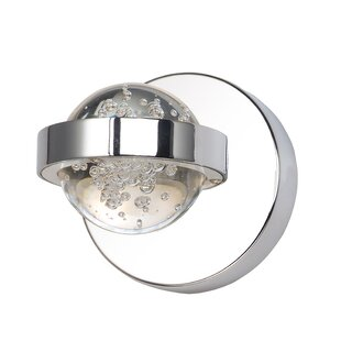 Price comparison Eastvale 1-Light LED Flush Mount By Orren Ellis