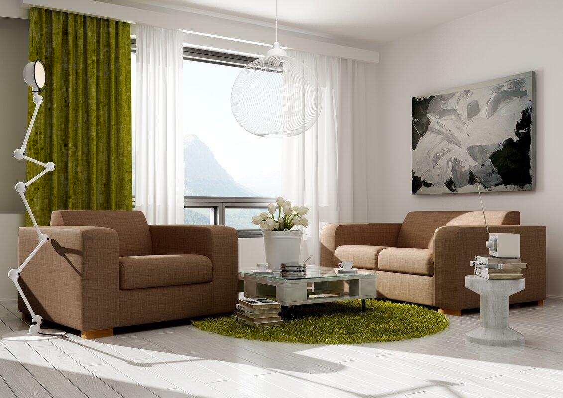 Latitude Run Sudarshan Configurable Living Room Set