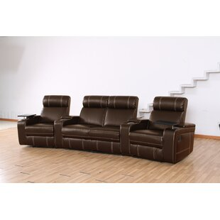 Wildon Home ® Riverton Home Theater Recliner (Row of 4)