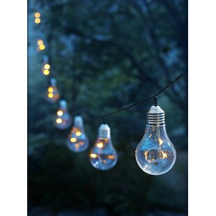 3.94 ft. 10-Light Globe String Light
