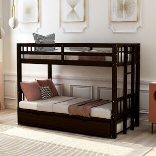 Dodger Twin over Full Bunk Bed with Trundle