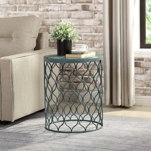 Best Reviews Hitterdal End Table by Highland Dunes