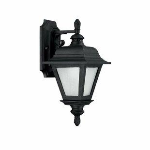 Best Reviews Brookwood 1-Light Outdoor Wall Lantern By Capital Lighting