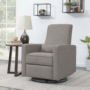Affordable Chilhowee Plush Reclining Glider by Harriet Bee Reviews (2019) & Buyer's Guide