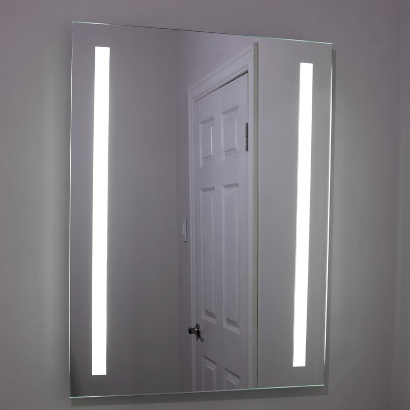 Erias Home Designs Lighted and Illuminated Beautiful Wall Mirror ...