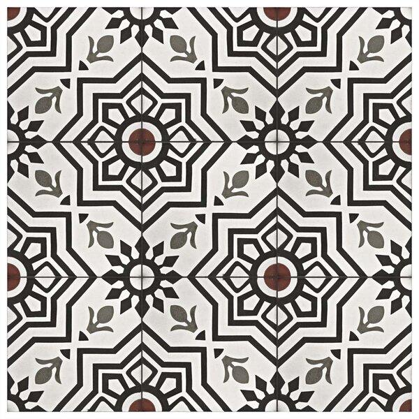 Elitetile Ciment 8 X 8 Cement Patterned Wall Floor Tile Reviews Wayfair
