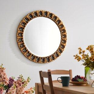 Affordable Price Decatur Golden Wall Mirror ByFleur De Lis Living