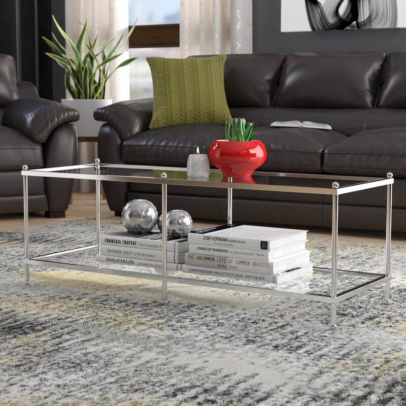 Stamford Ct Furniture Stores: Wrought Studio Stamford Coffee Table With Storage