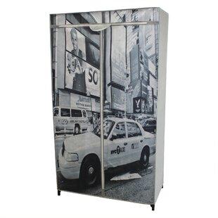 Brooklyn 87cm Wide Clothes Storage System By Symple Stuff