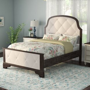 Laurel Foundry Modern Farmhouse Fortunat Upholstered Panel Bed