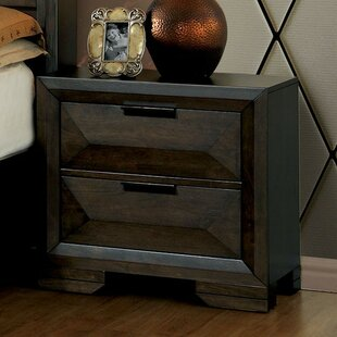 Barbosa 2 Drawer Nightstand by Foundry Select